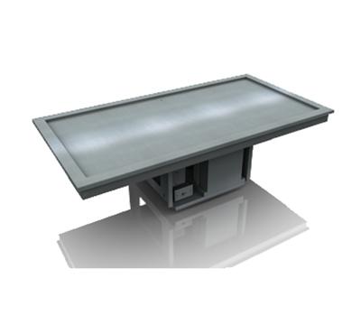 Delfield N8230-ST 1-Pan Drop-In Frost Top