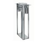 Delfield ND-47 Drop-In Open Frame Napkin Dispenser, for 4.25 x 7.12-in
