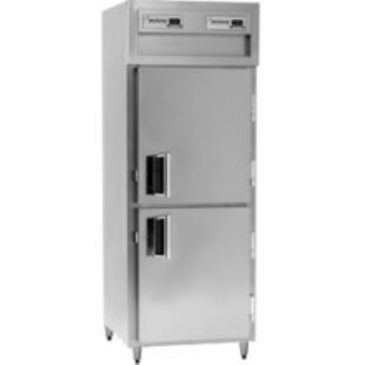 Delfield SAFPT1-SH Pass-Thru Freezer w/ 1-Section, Solid Half Door, 26.64-cu ft, 115 V