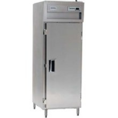 Delfield SAH1-S Single Reach-In Hot Food Cabinet w/ Full Solid, 24.96-cu ft, 120/208-230V