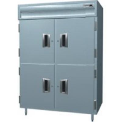Delfield SAHPT2-SH 2-Section Pass-Thru Hot Food Cabinet w/ Solid Half Door, 120/208-230 V