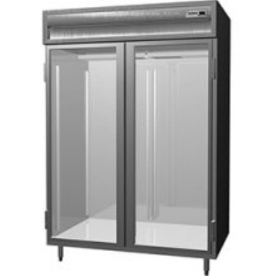 Delfield SAHRI2-G Double Roll-In Hot Food Cabinet w/ Full Glass, 74.72-cu ft, 120/208-230V