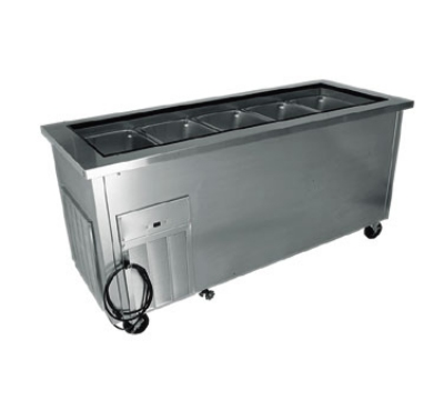 Delfield SCSC-74-B 65-in Cold Food Serving Counter w/ Reinforced Enclosed Base