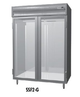 Delfield SMF2-G 2-Section Reach-In Freezer w/ Full Glass Door, 51.92-cu ft, 115/208-230 V