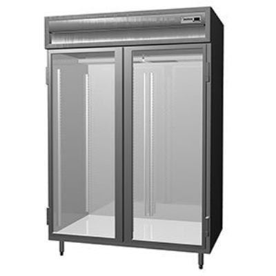 Delfield SMH2-G 2-Section Reach-In Hot Food Cabinet w/ Full Glass, 51.92-cu ft, 120/208-230V
