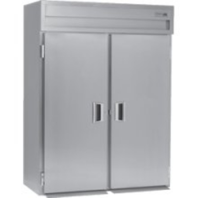 Delfield SMHPT2-S 2-Section Pass-Thru Hot Food Cabinet w/ Full Solid, 51.92-cu ft, 120/208-230V