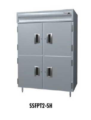 """Delfield SSFPT1-SH 29"""" Single Section Reach-In Freezer, (2) Solid Doors, 115v"""