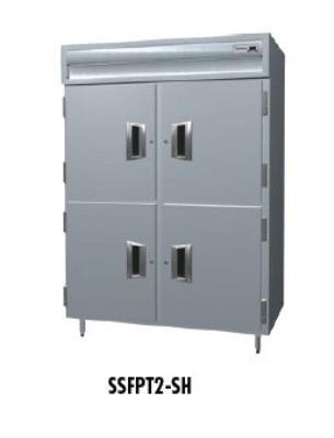 Delfield SSFPT1-SH 1-Section Pass-Thru Freezer w/ Half Solid Door, 26.64-cu ft