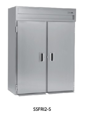 Delfield SSFRI1-S 1-Section Roll-In Freezer w/ Full Solid Door, 36.15-cu ft, Top Mount