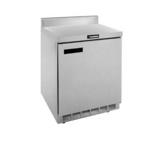 Delfield ST4532N 32 in Work Top Freezer Base w/ Door, Stainless Top & Splash
