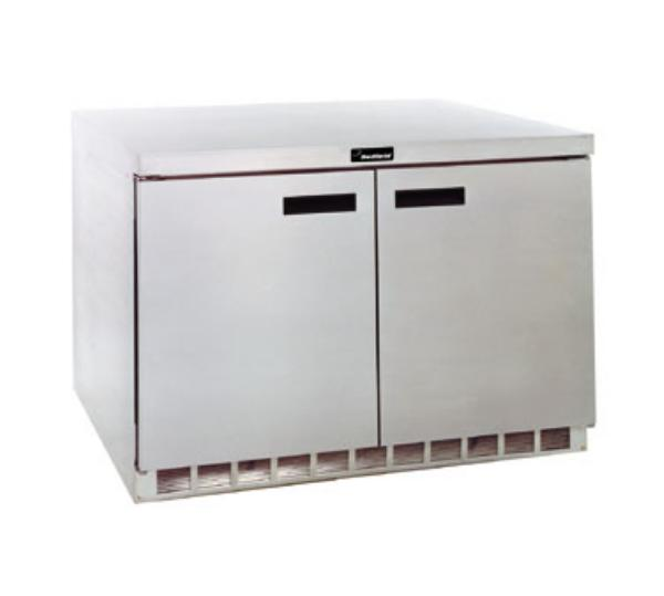 Delfield UC4448N 48 in Undercounter Refrigerator, 2 Section/2 Door