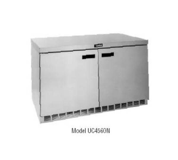 Delfield UC4560N 60 in Undercounter Freezer, 2 Section/Doors