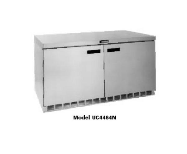 Delfield UCD4464N 64 in Undercounter Refrigerator, 2 Section/4 Drawers