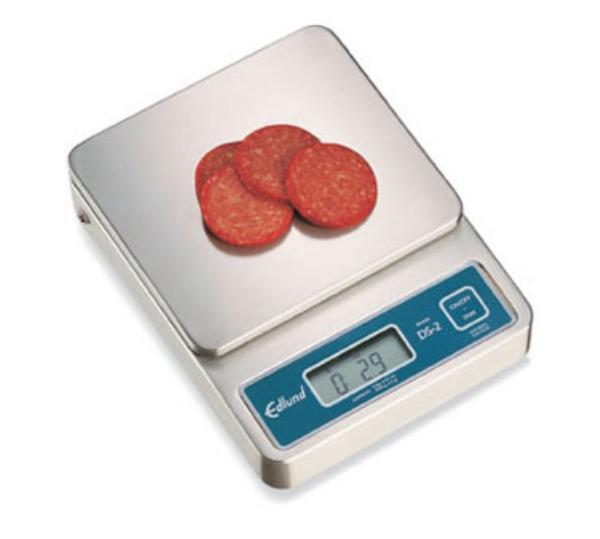 Edlund DS-10 Digital Portion Scale, Top Loading Counter Model, 160-oz x 0.