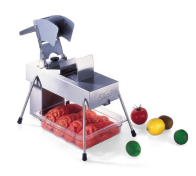 Edlund 354/230V Stainless Steel Food Slicer, 1/4 in Blades, Soft Fruits, 230 V