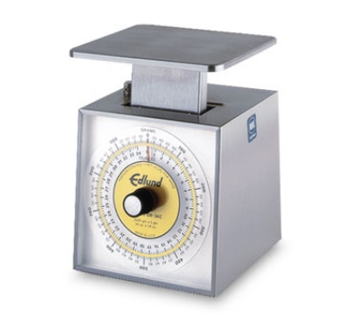Edlund SR-5000C Rotating Dial Vertical Face Scale, 11 lbs x 2 oz Portion
