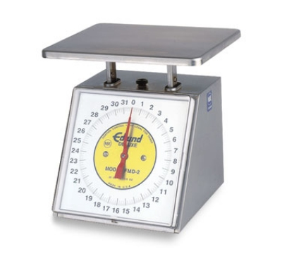 Edlund RM-5000 Dial Type Sloped Face Scale, 5000 gm x 20 gm, Rotating Dia