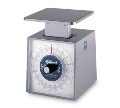 Edlund MSR-2000 OP Metric Portion Scale, 2000 gm x 10 gm, Top Lo