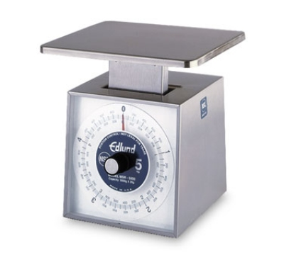 Edlund MSR-5000 Dial Type Scale, Metric Portion, 5000 gm x 20 gm, Rotat