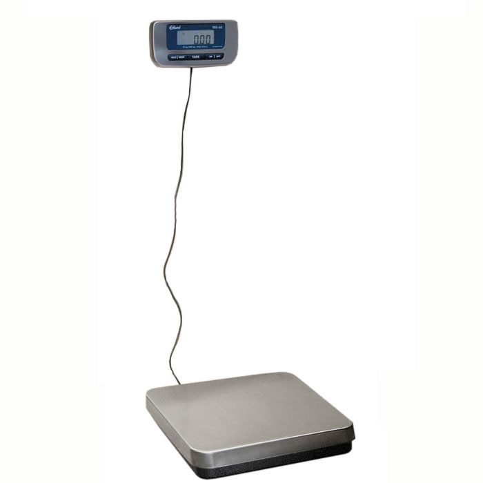 Edlund ERS-150 150-lb Digital Receiving Scale w/ Wall Mounting Bracket, Stainless Platform
