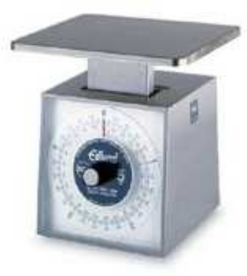 Edlund MDR-1000 Metric Portion Dial Type Scale, 1000 gm x 5 g