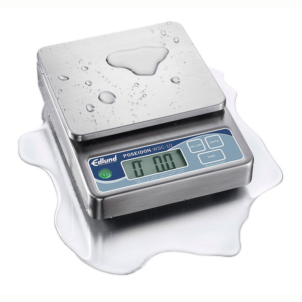 Edlund WSC-10 Scale, Digital Portion Control, 10 lbx x 0.1 oz, Programmable