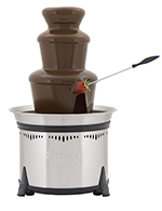 Sephra 17307 18-in Classic Fountain w/ Motor & Heat Switches, 6-lb Chocolate Capacity