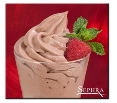 Sephra 33116 Gourmet Belgian Dark Chocolate Mousse Mix, Imported, (30) 4-oz Servings