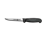 Victorinox - Swiss Army 40518 5-in Straight Boning Knife w/ Narrow Semi-Flexible Blade, Fibrox Nylon Handle