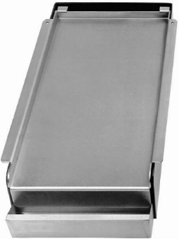 Franklin Machine 1331002 Add On Griddle Top, Covers 2-Burners