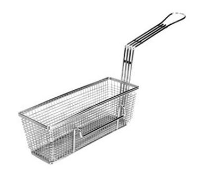 "Franklin Machine 2251012LH Fry Basket, Twin, 11-1/4"" x 4"" x 4"", Left"