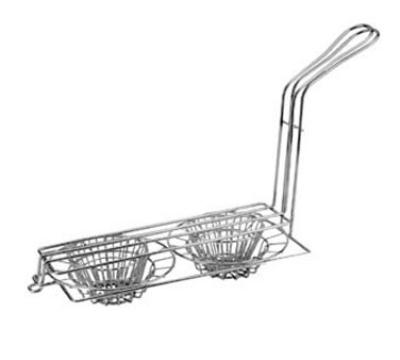 Franklin Machine 2261100 Double Taco Cup Fry Basket, Tortillas