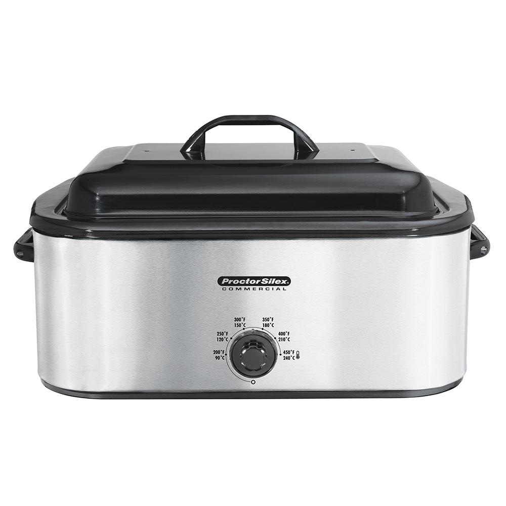 Hamilton Beach 32918 18-qt Roaster Oven Warmer w/ Rack & Pan, Stainless, 120 V