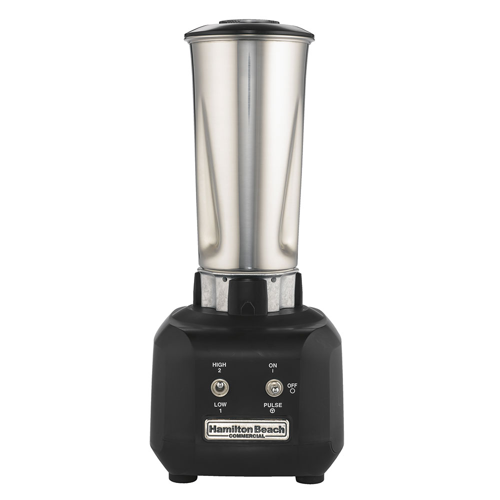 Hamilton Beach HBB250S-CE Bar Blender, 32-oz Stainless Container, 2-Speed, Export
