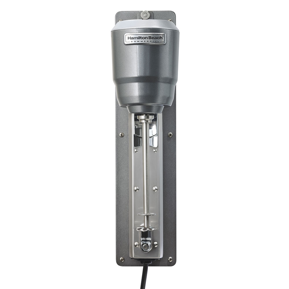 Hamilton Beach HMD300 Drink Mixer w/ Single Spindle & 2-Speed Motor, Wall Mount, Stainless Cup