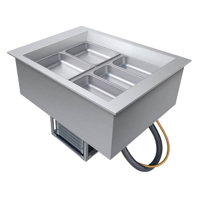Hatco CWB-2 Drop-In Refrigerated Well, (2) Pan Size