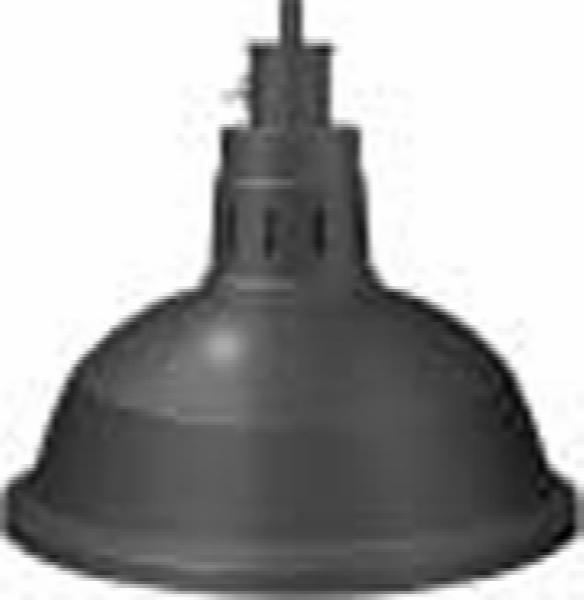 Hatco DL-760-PL Heat Lamp w/ Rigid Mount & Horizontal Pivot, Lower Switch, 760 Shade