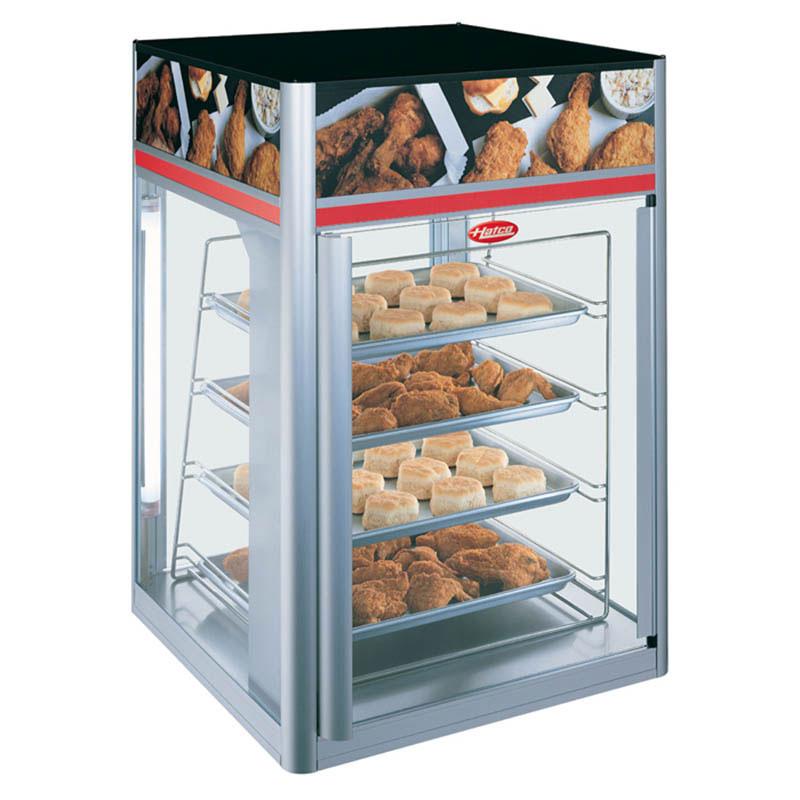 Hatco FSDT-2X Flav-R-Savor Display Cabinet, 4 Tier Pan, W/O Motor, 1440 W
