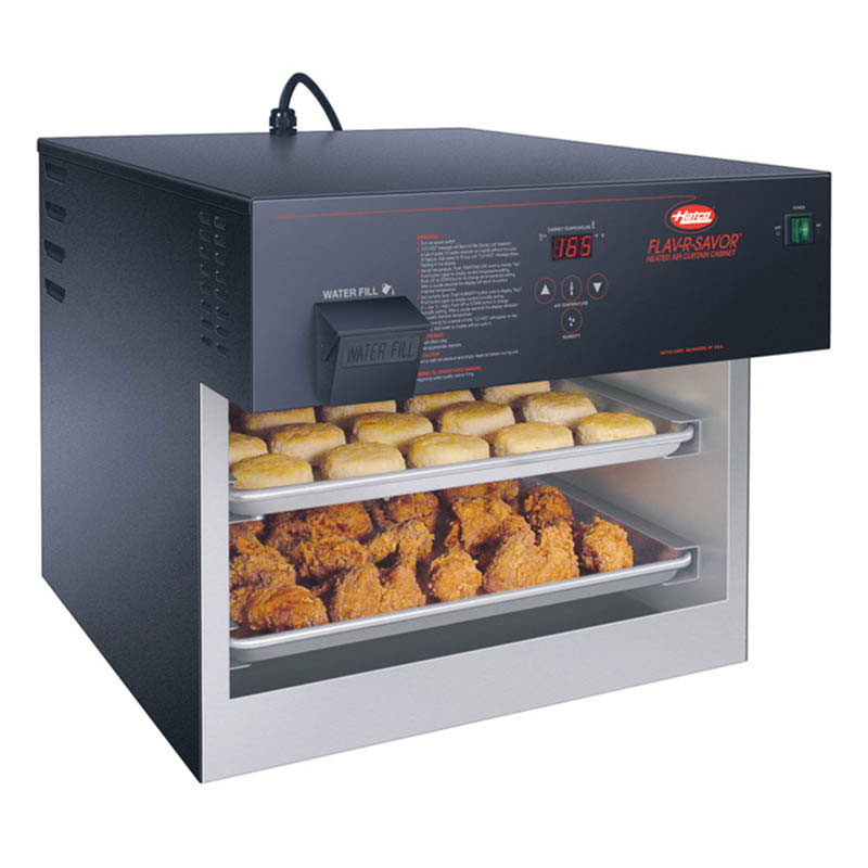 Hatco FSHACH-2 Air Curtain Heated Display Case, 2-Tier Counter Model, 2950 W