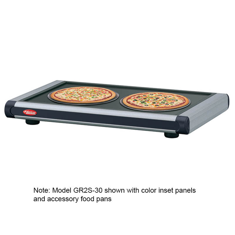 Hatco GR2S-48 Heated Shelf, Designer, Free-Standing, Built-In Adj Therm,700 W