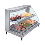 Hatco GRCD-3PD Glo-Ray Heated Display Case, 3 Pan Dual Shelf