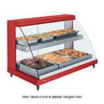 Hatco GRCDH-3PD-120-QS Glo-Ray Heated Display Case w/ Humidity, 3 Pan Dual Shelf