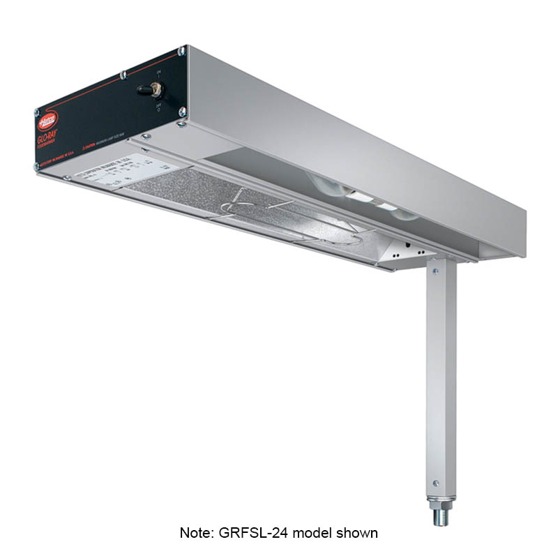 Hatco GRFSLR-24 Glo-Ray Fry Station, w/o Cord & Plug, 500 W
