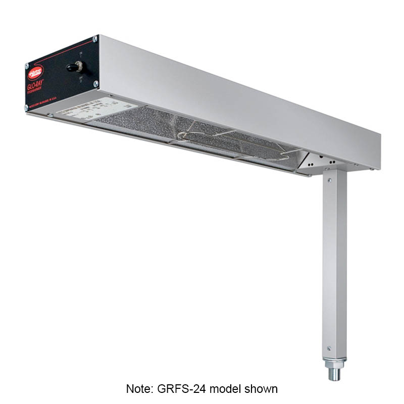 Hatco GRFSR-24 Glo-Ray Fry Station, w/o Cord and Plug, 750 W