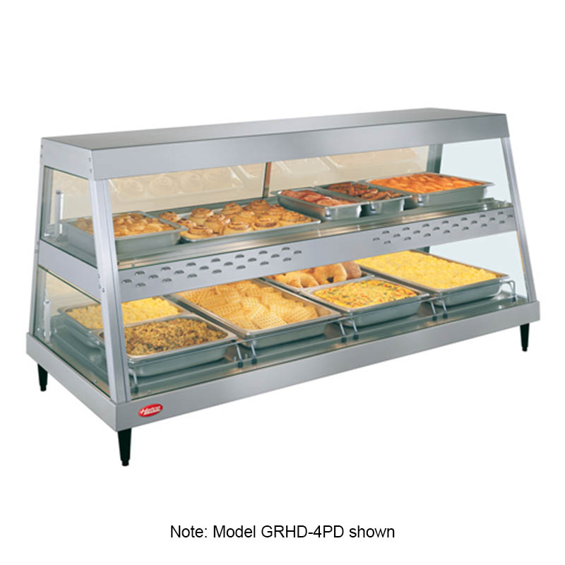 Hatco GRHDH-4PD Heated Display, 3-qt Humidity, 2-Shelves, 4-Pan Each, 3160 Watts