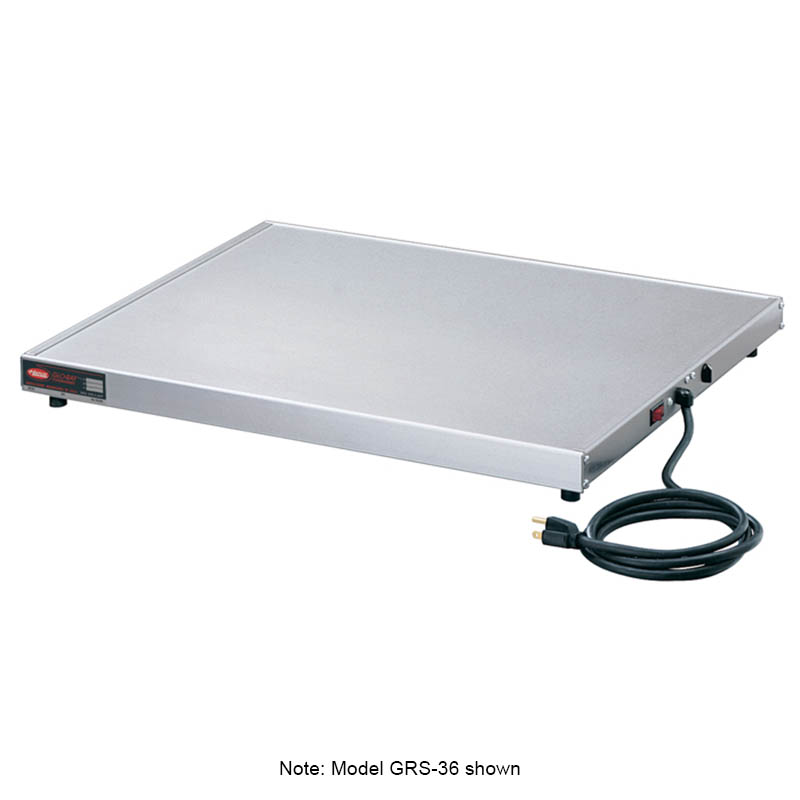 Hatco GRS-18-K 18-in Heated Shelf w/ Adjustable Thermostat, 23.5-in W, 120 V