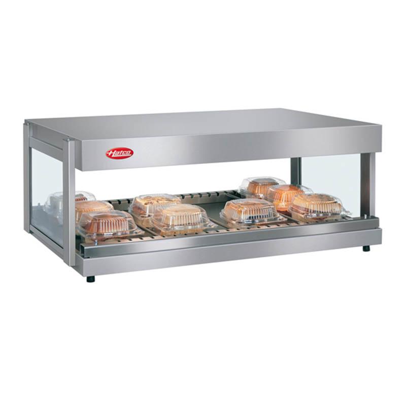 Hatco GRSDH-36 Glo-Ray Merchandising Warmer, Pass-Thru, 1 Shelf w/ 7 Rods, 1170 W