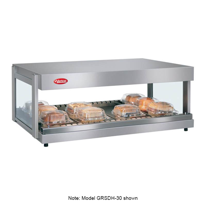 Hatco GRSDH-41 Glo-Ray Merchandising Warmer, Pass-Thru, 1 Shelf w/ 8 Rods, 1340 W