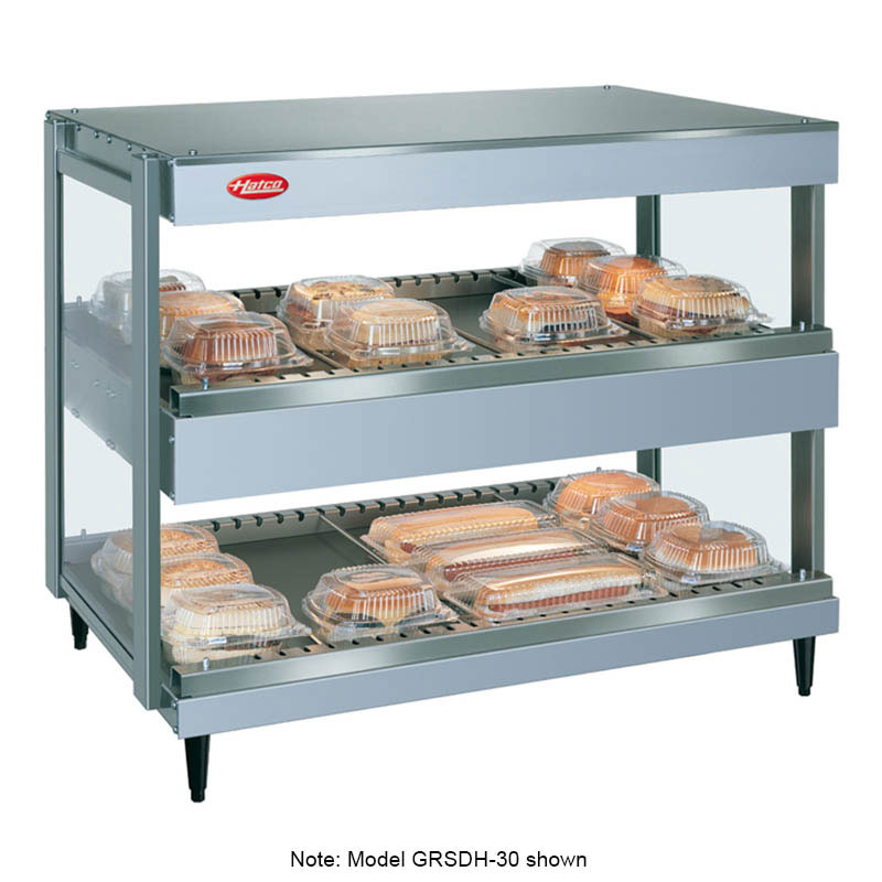 Hatco GRSDH-52D Pass Thru Merchandising Warmer, 20-Rods, 3520 Watts