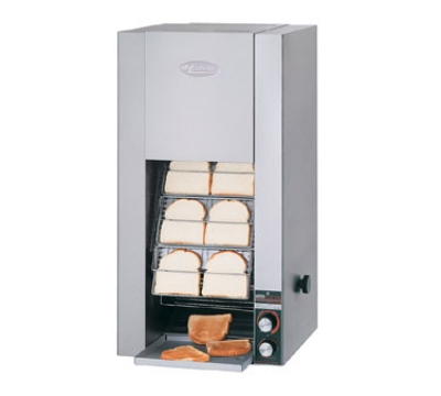 Hatco TK-72 208-QS Vertical Conveyor Toaster For 12-Buns Or Slices Per Minute, 208 V